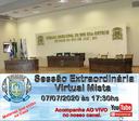 Convocação para a Sessão Extraordinária de 07/07/2020.