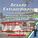 Convocação para a Sessão Extraordinária 09/06/2020