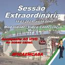 Convocação para Sessão Extraordinária 19/03/2021 às 14:00hs