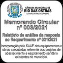 Memorando Circular nº 003/2021