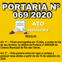PORTARIA N° 069/2020