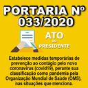 Portaria nº 033/2020