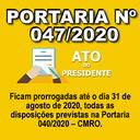 Portaria nº 047/2020