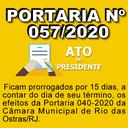 Portaria nº 057/2020