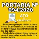 Portaria nº 094/2020