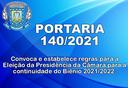 Portaria nº 140/2021