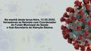 Reunião para saber das atitudes adotadas no combate ao coronavírus pela prefeitura de Rio das Ostras
