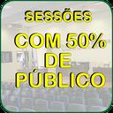 SESSÕES DA CÂMARA MUNICIPAL TERÃO  REABERTURA GRADUAL